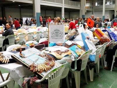 Multitudinario Encuentro Regional de Encaje de Bolillos de Tarancón