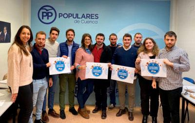 Nuevas Generaciones presenta su campaña navideña Populares Solidarios