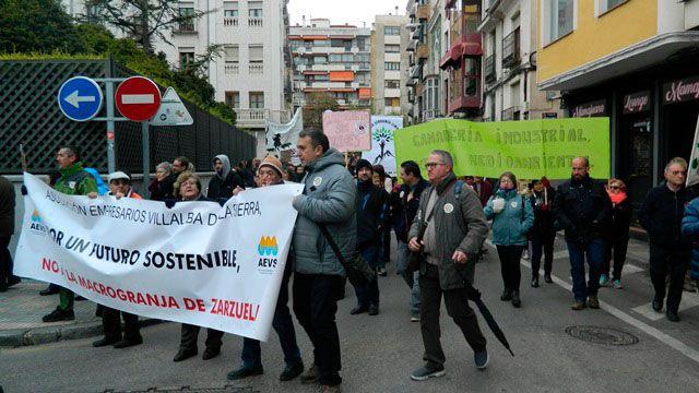 Nueva manifestación de 'Pueblos Vivos' este domingo en la capital