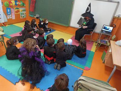 Halloween no pasó de largo por el colegio de 'El Carmen'