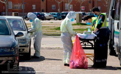 La provincia registra 132 contagios, dos nuevos ingresos y un fallecido por Covid