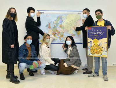 El coronavirus frena la movilidad Erasmus en el Campus de Cuenca