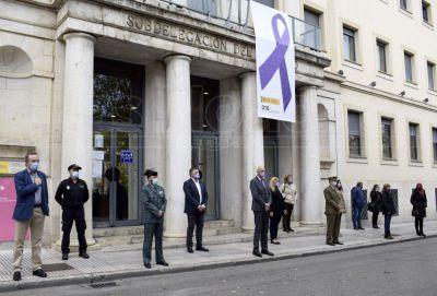 Minuto de silencio en Cuenca por las víctimas de la violencia de género