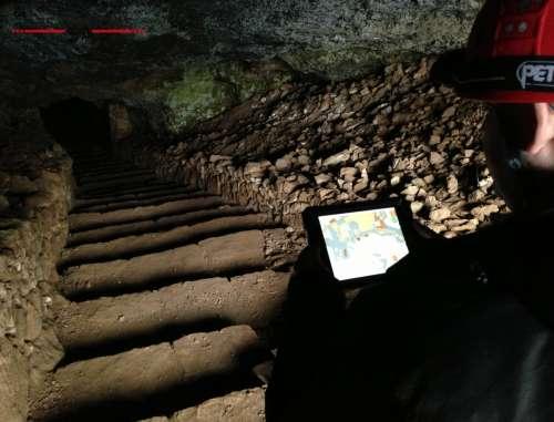 La Mina Romana de Cueva del Hierro implanta un sistema de localización único en el mundo