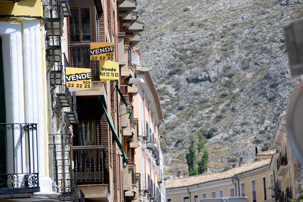 La zona de la Universidad, donde más sube el precio de la vivienda, y el Casco, donde menos