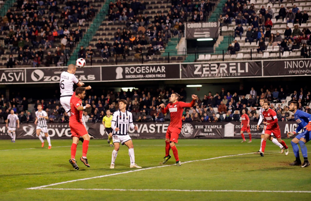 Un Conquense sin suerte cae ante el Castellón por la mínima (1-0)