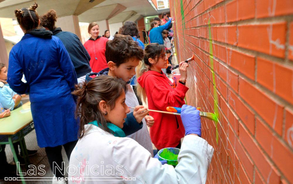 Los alumnos del CEIP La Paz quieren 'Crecer con Arte'