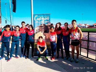 Pablo Pastor logra la medalla de Oro en el Campeonato de España de Marcha