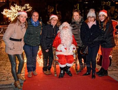 El Parador de Cuenca enciende la Navidad