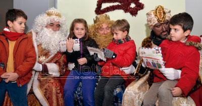 Los Reyes Magos recogerán las cartas de los más pequeños en la Sala Iberia