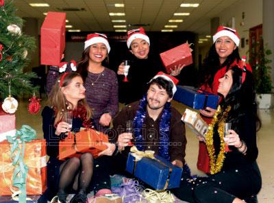 El menú navideño más internacional