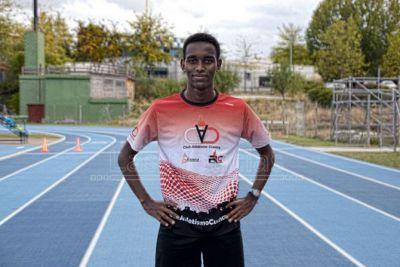 Mesfin Escamilla se proclama subcampeón de España en el 3.000 de pista cubierta