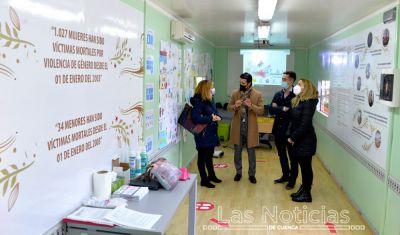 Un aula móvil contra la violencia de género