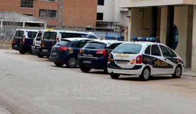 Los delitos cayeron un 14,2% en la provincia de Cuenca hasta septiembre